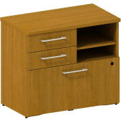 "Bush® 300 Series Lower Piler/Filer Cabinet, 300SFP30MC, 30""W, Cherry"