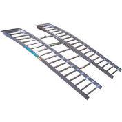 """RevArc 90""""L HD Arched Tri-Fold Aluminum UTV Ramps RevArc90HD with Strap - 2100 Lb. Cap."""