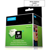 """DYMO Paper Labels 1 -/8"""" x 3-1/2"""", For Use With LabelWriter Printers - Pkg Qty 2"""