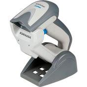 Datalogic 1D/2D Cordless Multi Interface Barcode Reader, White