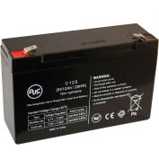 AJC®  Jiming JM-6M10AC 6V 12Ah Sealed Lead Acid Battery
