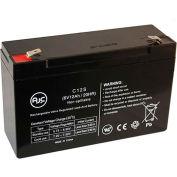AJC®  B&B BP10-6 T1 6V 12Ah Sealed Lead Acid Battery