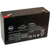 AJC®  MK ES12-6F1 6V 12Ah Sealed Lead Acid Battery