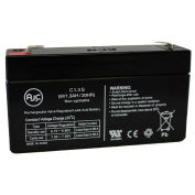 AJC® National Power GS004T2 6V 1.2Ah Emergency Light Battery