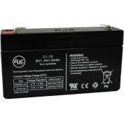 AJC® B&B BP1.2-6 (3.82 x 0.98 x 2.20) 6V 1.2Ah UPS Battery