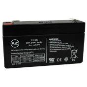AJC® National Power GSO04T2 6V 1.2Ah Emergency Light Battery