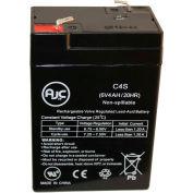 AJC® Lithonia XP 6V 4.5 Amp Hours Emergency Light Battery