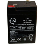 This is an AJC Brand Replacement Dual Lite 12-793 6V 5Ah Emergency Light Battery