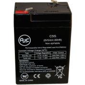 AJC® JohnLite 6 volt 5 Ah Battery 6V 5Ah Spotlight Battery