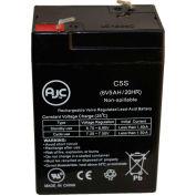 AJC® WKA6-5F 6V 5Ah Sealed Lead Acid Battery