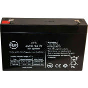 AJC® Sure-Lites Sure-Lites SL2645 6V 7Ah Emergency Light Battery