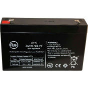 AJC® Panasonic LCR6V6.5BP 6V 7Ah Emergency Light Battery