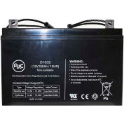 AJC® Fire Lite BAT121000 12V 100Ah Emergency Light Battery
