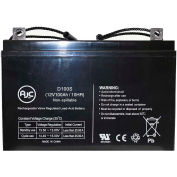 AJC® National Power AT600K3 12V 100Ah Emergency Light Battery