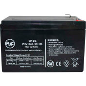 AJC® Chloride 100-001-0136-02 12V 10Ah Emergency Light Battery