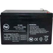 AJC® Lightalarms 45139800 12V 10Ah Emergency Light Battery