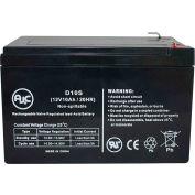 AJC®  Long Way LW-6FM10S Sealed Lead Acid - AGM - VRLA Battery