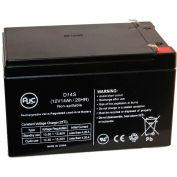 AJC® Technacell TC1295 12V 10Ah Emergency Light Battery