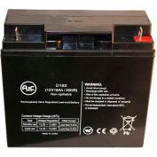 AJC® Solar Booster Pac ES1230 Jump Starter 12V 18Ah Jump Starter Battery