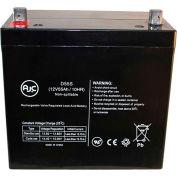 AJC®  AJC MPS1250 12V 55Ah Sealed Lead Acid Battery