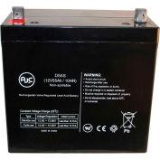 AJC® Quickie Design V521 12V 55Ah Wheelchair Battery