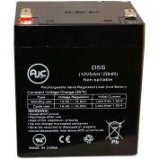 AJC® AJC 12V 5Ah - F2 Terminal - Sealed Lead Acid - AGM - VRLA Battery