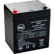 AJC® BB HR5.5-12-T2, HR5.5-12T2 12V 5Ah UPS Battery