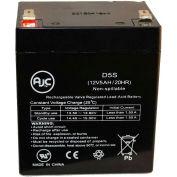 AJC® Power Sonic PS1242 OPTION 12V 5Ah UPS Battery