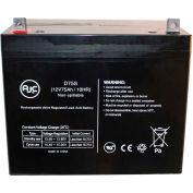 AJC® Merits Health Products MP3HD Big Boy 12V 75Ah Wheelchair Battery