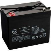 AJC® Sonnenschein A41250 F10 12V 75Ah Emergency Light Battery