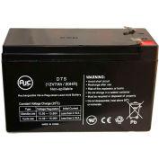 AJC®  Power-Sonic PS-1270-F1 Sealed Lead Acid - AGM - VRLA Battery