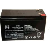 AJC® Eaton Powerware PW9120-2000 MFD Before 1/1/06 12V 7Ah UPS Battery
