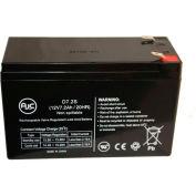 AJC® APC Dell Smart-UPS 2200 Rack Mount 3U (DL2200RM3U) 12V 7Ah UPS Battery