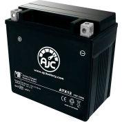 AJC Battery Kawasaki ZX600E F Ninja ZX-6 6R 600CC Motorcycle Battery (1993-2002), 10 Amps, 12V