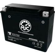 AJC Battery Yamaha SX Viper ER 696CC Snowmobile Battery (2002-2005), 23 Amps, 12V, I Terminals