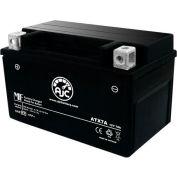 AJC Battery Suzuki LTZ90 QuadSport 90CC ATV Battery (2007-2010), 7 Amps, 12V, B Terminals