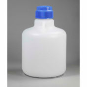 Bel-Art Autoclavable Carboy without Spigot 107940025, Polypropylene, 10 Liters, White, 1/PK