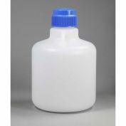 Bel-Art Autoclavable Carboy without Spigot 107940025, Polypropylene, 10 Liters, White, 1/PK