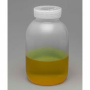 Bel-Art Mason Jars 109150000, Polypropylene, 2 Liters (1/2 Gallon), Clear, Wide Mouth, 3/PK - Pkg Qty 4