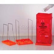 "Bel-Art Clavies® Biohazard Bag Holder 131920003, Large, Fits 24"" x 36"" Bags, 1/PK"