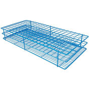"Bel-Art Poxygrid® ""Rack And A Half"" Test Tube Rack, For 15-16mm Tubes, 180 Places, Blue, 1/PK - Pkg Qty 12"