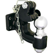 "Buyers Products 10-Ton Combination Hitch w/ Mounting Kit, 2"" Hitch Ball - 10052"