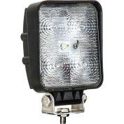 Buyers LED Square Clear Flood Light 12-24VDC - 5 LEDs - 1492117