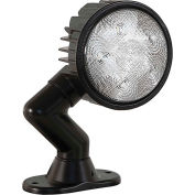 Buyers Products Articulating 5 Inch Round LED Flood Light - 1492125