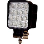 Buyers LED Square Clear Flood Light 12-48VDC - 16 LEDs - 1492128