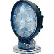 Buyers LED Round Clear Flood Light 12-24 VDC - 5 LEDs - 1492130