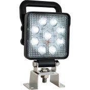 """Buyers 3.9"""" Square Flood Light w/ Built-In Switch - 1492193"""