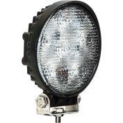 Buyers LED Round Clear Spot Light 12-24 VDC - 6 LEDs - 1492215