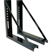 Buyers Bolted Brackets - Steel Underbody Truck Boxes 18x18 - 1701005B