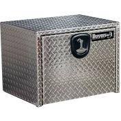 Buyers Aluminum Underbody Truck Box w/ T-Handle - 24x24x24 - 1705130